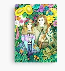 Together - a happy place Canvas Print