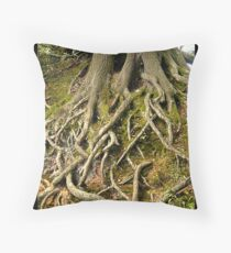 Bare Roots Throw Pillow