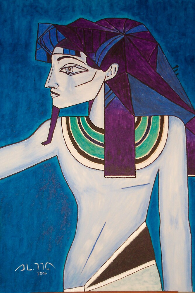 The cubist Egyptian by ALMA2007