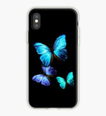 Blauer Schmetterling iPhone-Hülle & Cover