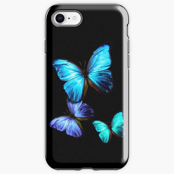 Blue Butterfly iPhone Tough Case