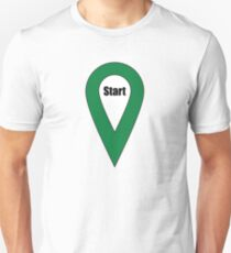 Start Here Couple or Kids Exploring T-Shirt