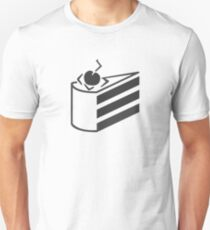 The cake is a lie. Unisex T-Shirt