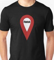 Finish Here Couple or Kids Exploring T-Shirt
