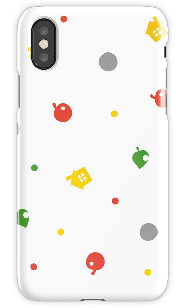 animal crossing for iphone quot animal crossing new leaf 3ds pattern quot iphone cases 7791