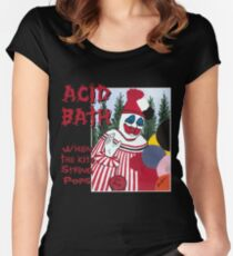 Acid Bath - When the Kite String Pops Women's Fitted Scoop T-Shirt
