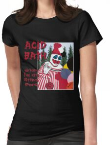Acid Bath - When the Kite String Pops Womens Fitted T-Shirt