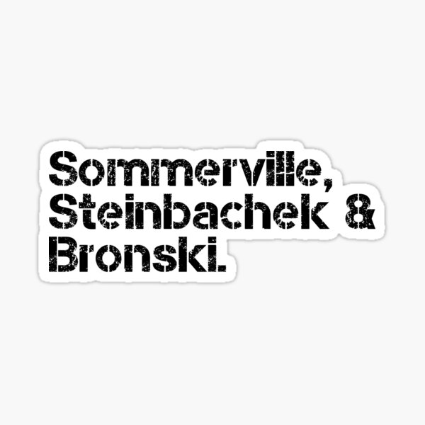 Bronski Beat [line-up] Sticker