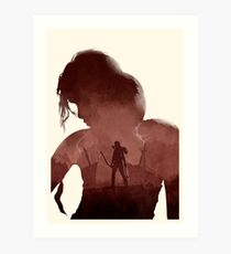 Tomb Raider (II) (No Text) Art Print