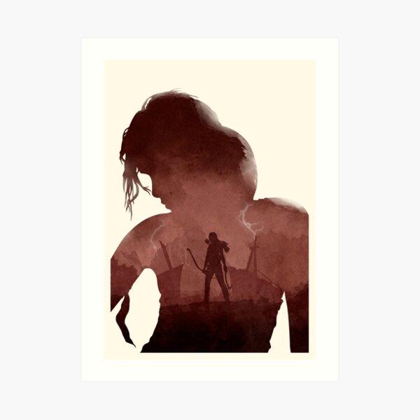 Tomb Raider (II) (No Text) Art Print
