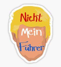 Nicht Mein Fuhrer Sticker