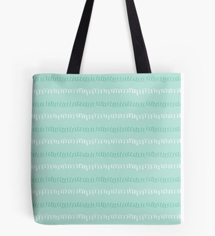 Swirly Whirly Blues Tote Bag