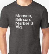 Garbage [line-up] Unisex T-Shirt