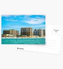 Clearwater Beach Florida from Water Postcards