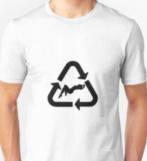 Recycle - Women I (Black) Unisex T-Shirt