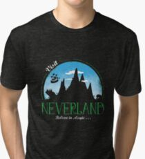 Visit neverland Tri-blend T-Shirt