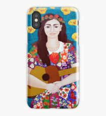Violeta Parra and the song The gardener  iPhone Case/Skin