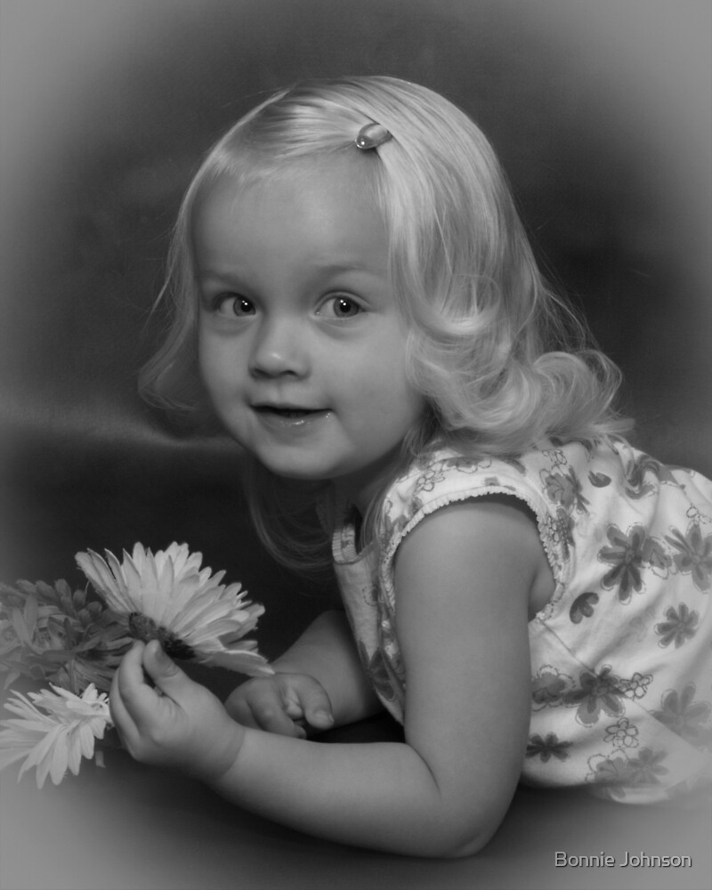 Hannah-Age 2 by Bonnie Johnson