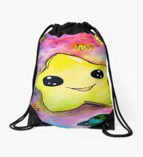 Kawaii Star in Space Drawstring Bag