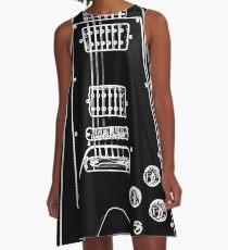 black glowstrings 6 A-Line Dress