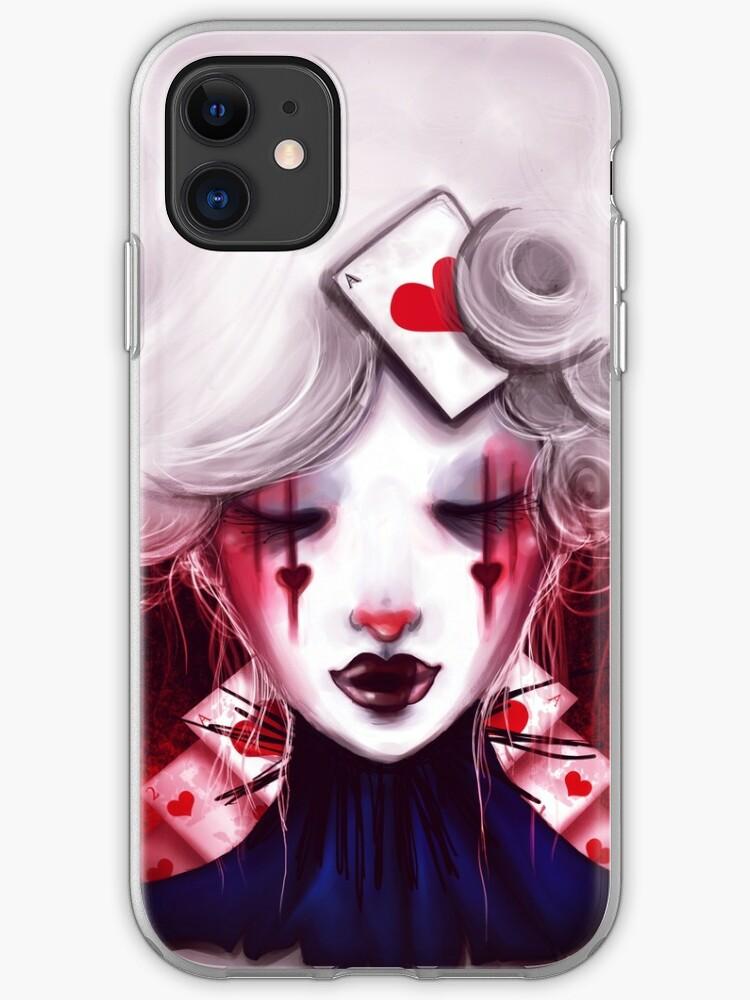 Queen of Hearts iPhone 11 case