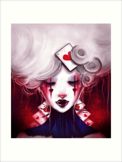 Queen of Hearts by lunaticpark