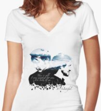 It's Beautiful - Hannibal Women's Fitted V-Neck T-Shirt