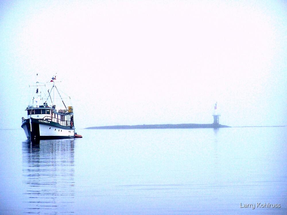 Alone In The Fog 8 - Kohlruss Photography by Larry Kohlruss