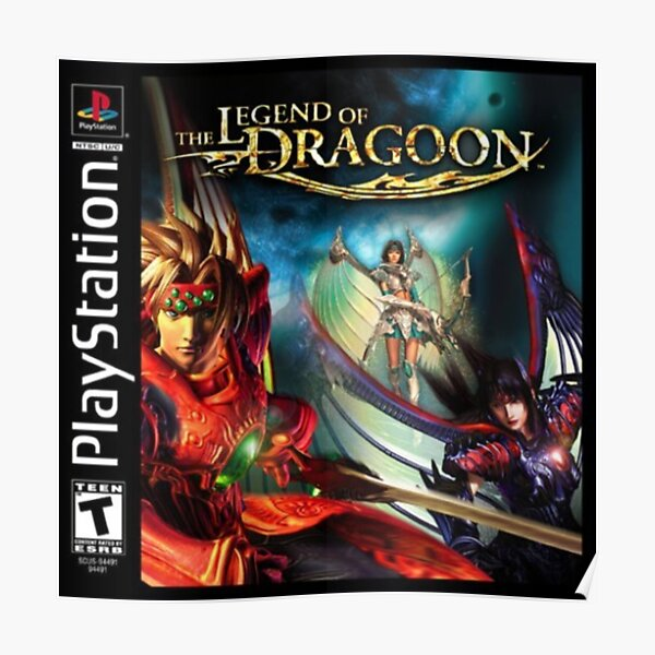 Legend of Dragoon Poster