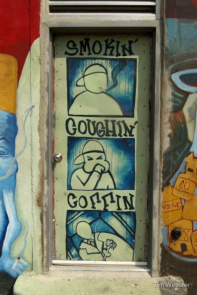 P.S.A Graffiti by Tim Webster