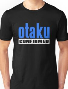 Otaku Confirmed (Blue / White) Unisex T-Shirt