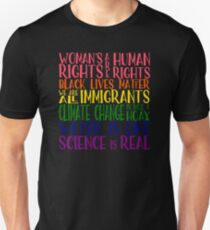 Politischer Protest - Gemeinsam sind wir stärker Slim Fit T-Shirt