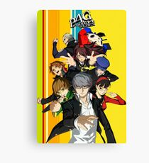 Persona 4 Golden Canvas Print