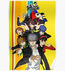 Persona 4 Golden Poster