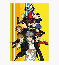 Persona 4 Golden Photographic Print