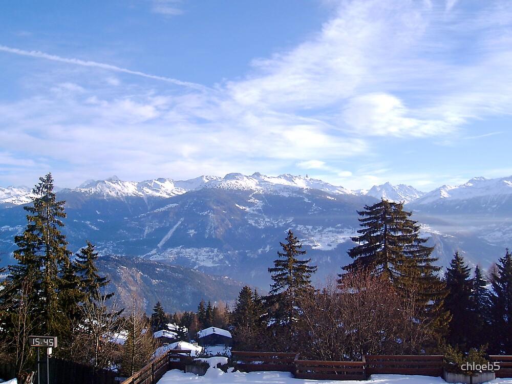 Switzerland mountains by chloeb5