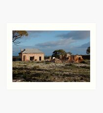 Monarto Homestead Art Print