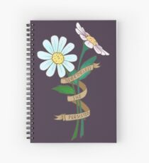 Nevertheless, she persisted. Spiral Notebook