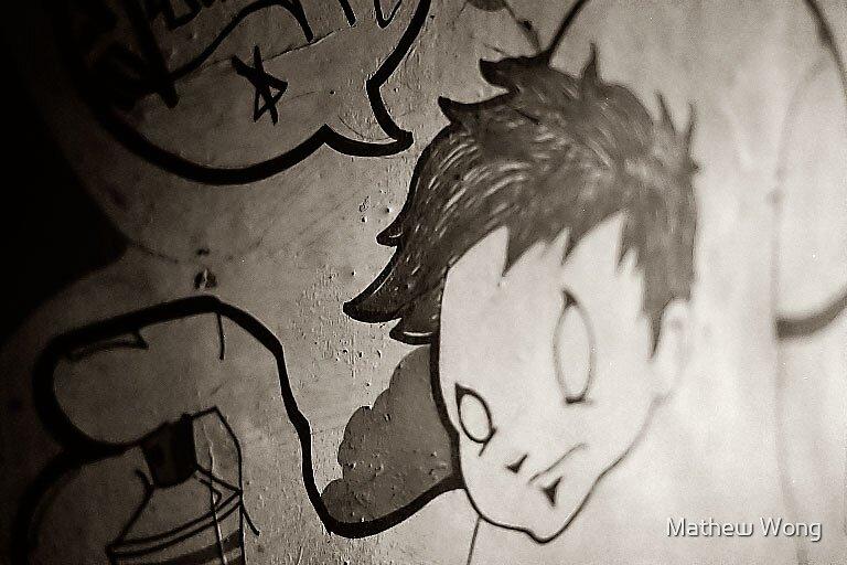 graffitti by Mathew Wong