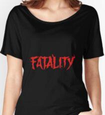 Mortal Kombat Fatalit Women's Relaxed Fit T-Shirt