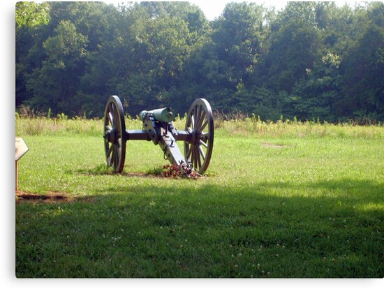 civil war cannon by woody42tn