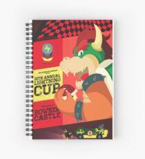 Bowser Mario Kart Spiral Notebook