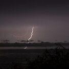 Nightcliff Jetty Lightning, NT by Brett Habener