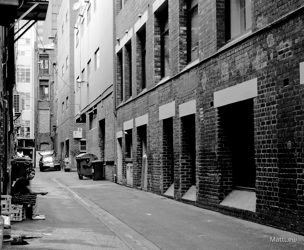 Melbourne Alley by MattLew
