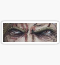 R Zombie Eyes Sticker