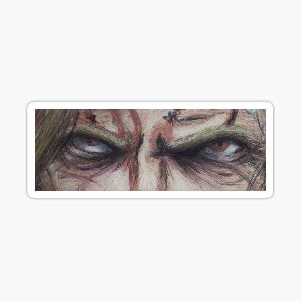 R Zombie Eyes Sticker