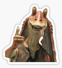 Jar Jar Binx Sticker