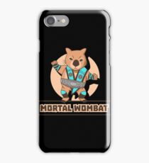 Mortal Kombat Mortal Wombat iPhone Case/Skin