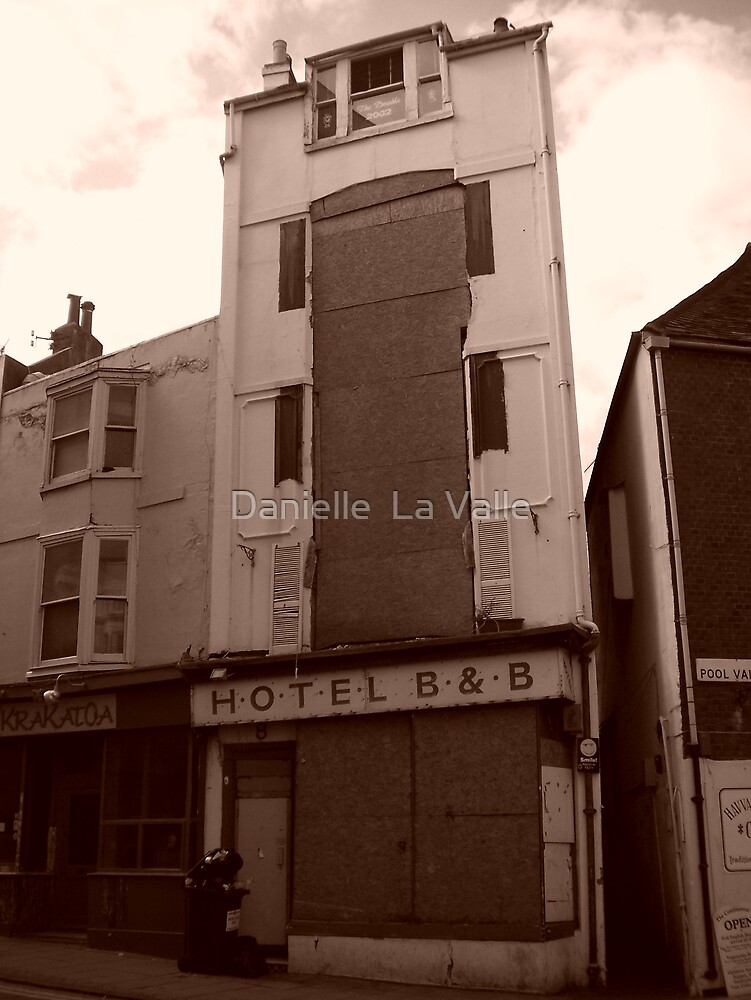Derelict B&B (on Pool Valley) In Brighton 1 by Danielle  La Valle