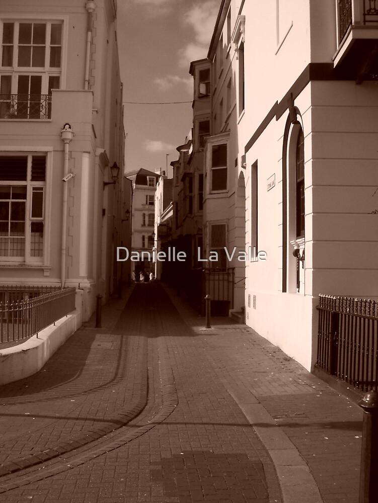 Lane in Brighton by Danielle  La Valle